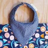 Mates with Grace-Navy Gum Organic Bandana Bib