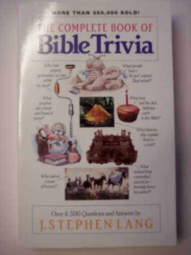 The Complete Book of Bible Trivia - The Bearded Veteran