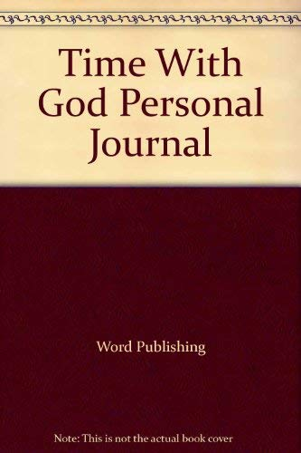 Time With God Personal Journal