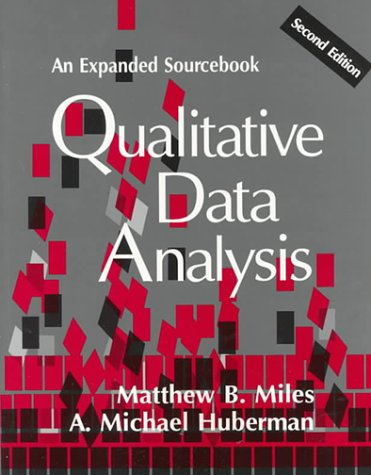Qualitative Data Analysis: An Expanded Sourcebook, 2nd Edition