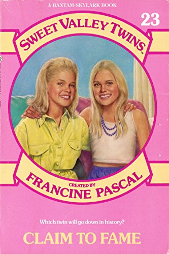 CLAIM TO FAME (Sweet Valley Twins)