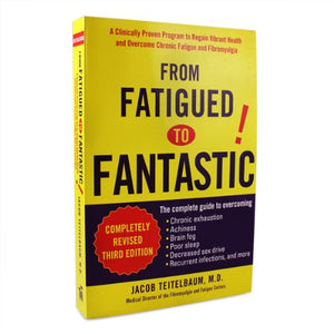 From Fatigued to Fantastic! 424pages book by Jacob Teitelbaum M.D.