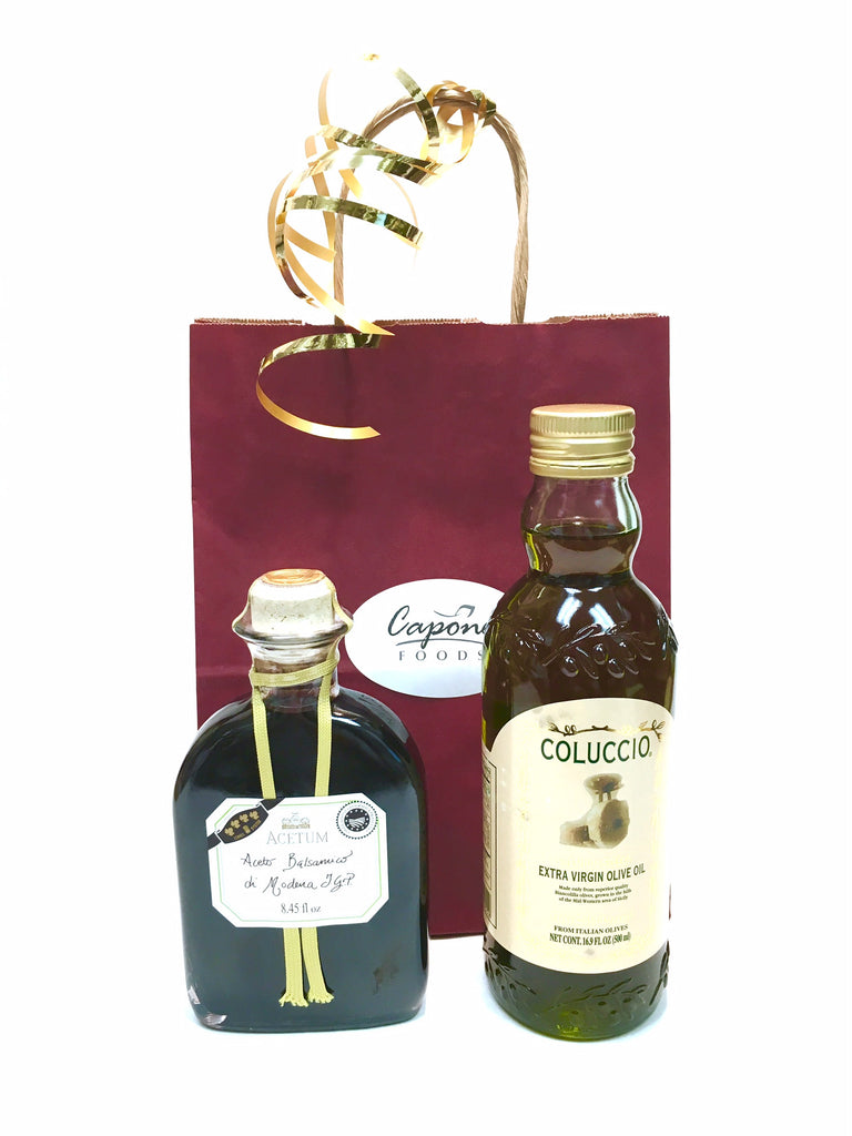 Italian Oil and Vinegar Gift Bag