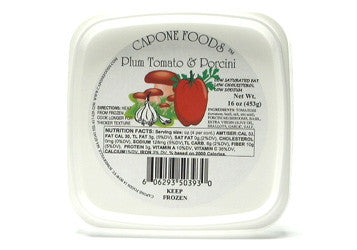 Plum Tomato Sauce with Porcini