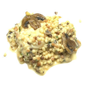 Fregola with Mushrooms