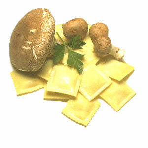 Mushroom Ravioli (no meat or cheese)