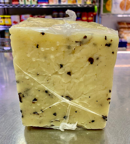 Italian Sheep Milk Cheese with Truffles