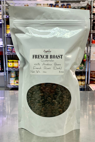 French Roast Coffee sold by the pound