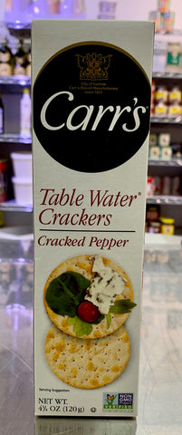 Carr's Cracked Pepper Crackers