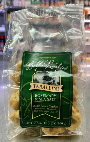 Rosemary & Sea Salt Tarallini