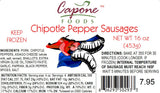Chipotle Pepper Sausages