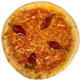 cooked HANDMADE Crispy Calabrian Pepper Pizza