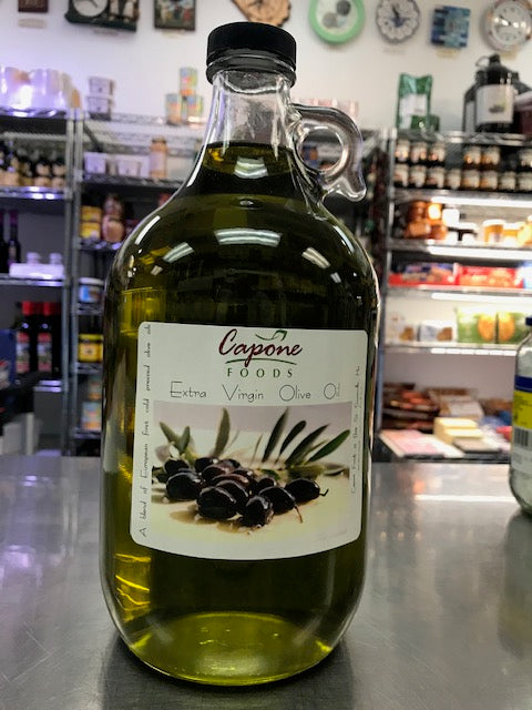 CAPONE OLIVE OIL 1/2 GALLON