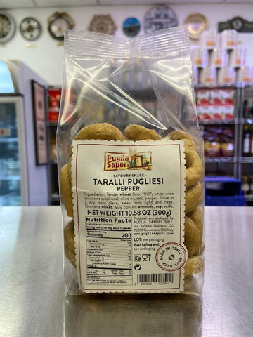Black Pepper Taralli