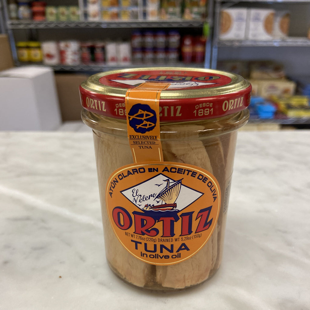 Ortiz Kosher yellowfin tuna in olive oil