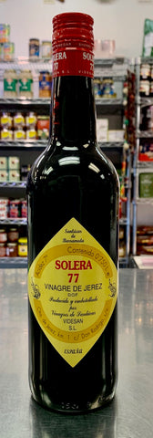 Solera 77  Sherry Wine Vinegar