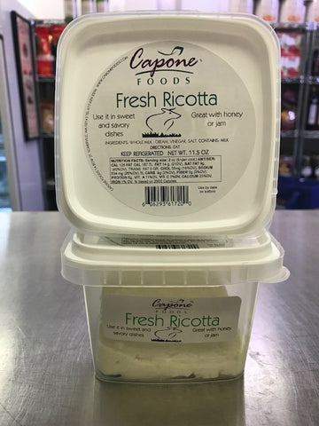 Capone's Home-Made Ricotta
