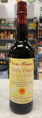 Spanish Sherry vinegar  Don Bruno