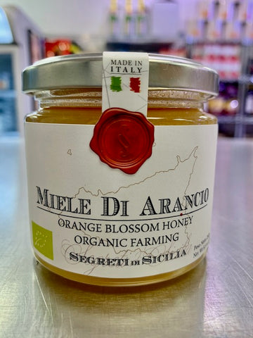 Sicilian Orange Blossom Honey - Frantoi Cutrera