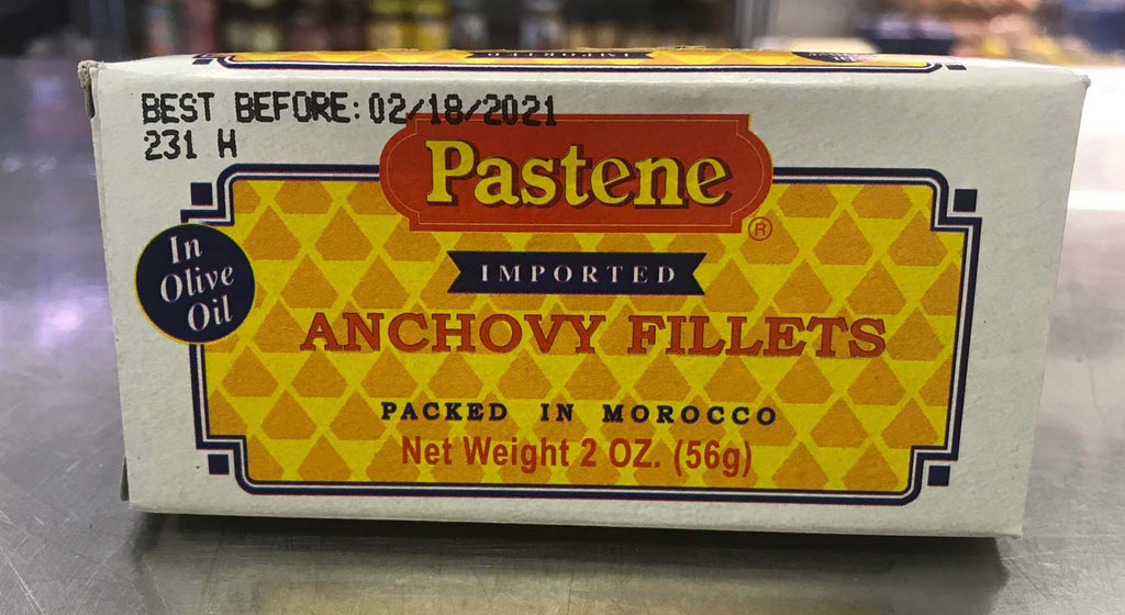 Pastene Anchovies in olive oil