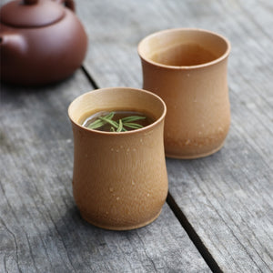 Bamboo Vintage Coffee and Tea Mug