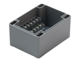 Enclosure with Terminal Block, Side Mounted, 6 Circuits, Cast Aluminum with Solid Cover V.2