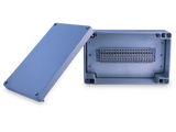 Enclosure with Terminal Block, Center Mounted, 40 Circuits, Cast Aluminum with Solid Cover