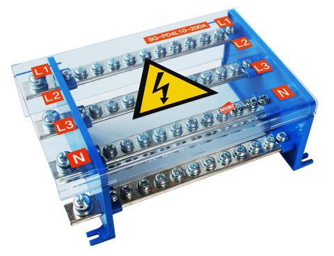 Power Distribution Block Three Phase