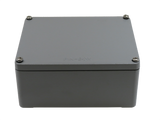 IP67 Aluminum Project Box with Base Plate | 145mm x 124mm x 62mm
