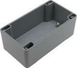 IP67 Aluminum Project Box with Base Plate | 128mm x 70mm x 52mm