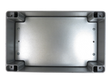 IP67 Aluminum Project Box with Base Plate | 260mm x 160mm x 90mm