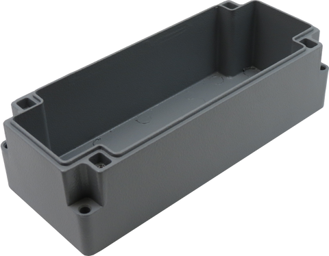 IP67 Aluminum Project Box with Base Plate | 172mm x 70mm x 55mm