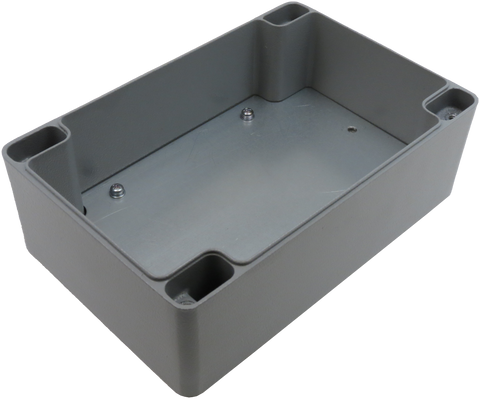 IP67 Aluminum Project Box with Base Plate | 190mm x 125mm x 80mm