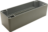 Enclosure with Terminal Block, Side Mounted, 20 Circuits, Cast Aluminum with Solid Cover
