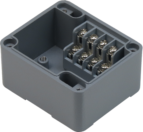 4 Position Aluminum Terminal Enclosure