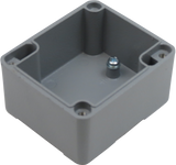 IP67 Aluminum Project Box with Base Plate | 71mm x 61mm x 48mm
