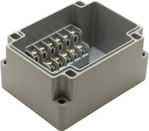 6 Position Aluminum Terminal Enclosure