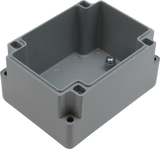 IP67 Aluminum Project Box with Base Plate | 93mm x 70mm x 52mm