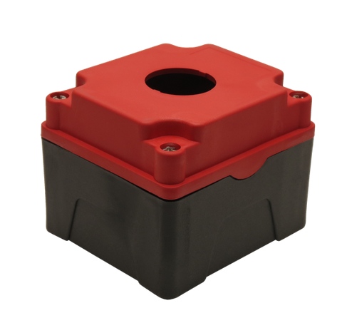 30mm Red Push Button Box 1 Station