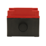 Red Push Button Box 2 Position 25mm Hole Size Counter Rotating Feature Entry View