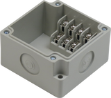 4 Position Terminal Enclosure top view with cover removed