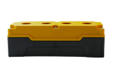25mm Yellow Push Button Box 4 Station