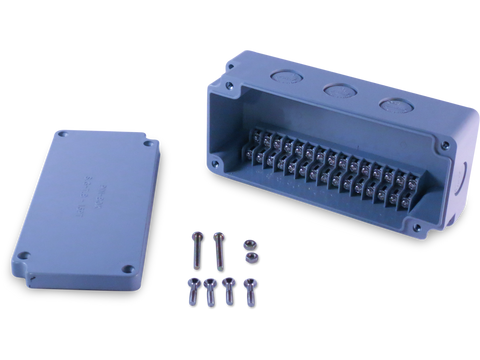 15 Position Terminal Enclosure components included in purchase