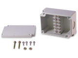 6 Position Terminal Enclosure components included with purchase