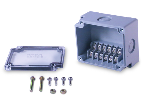 6 Position Terminal Enclosure components include with purchase