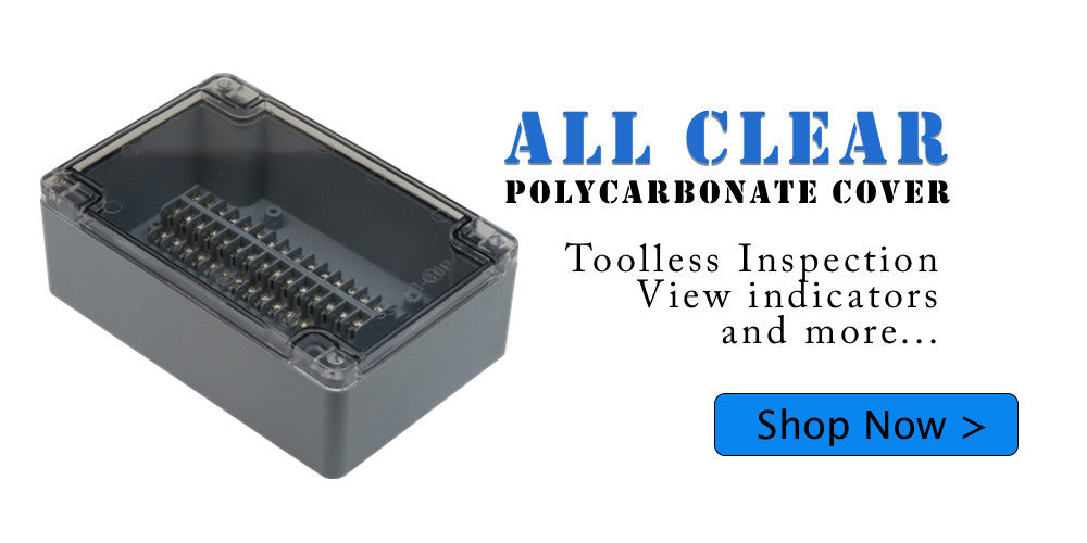 Clear Terminal Enclosures