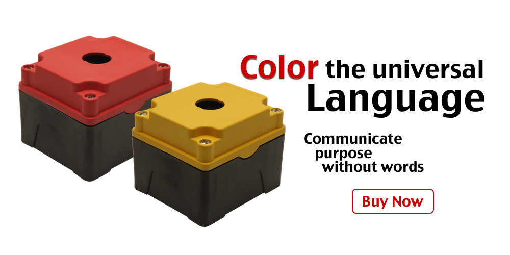 Push Button Enclosures with Colored Covers Shop Now