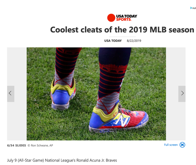 Coolest Cleats of the 2019 MLB Season