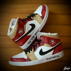 Sports Team/School-Themed Jordan 1 (Sneakers Included)