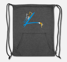Load image into Gallery viewer, LUCIA FOOTWEAR CO. Sweatshirt Drawstring Bag